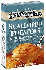 scalloped potatoes Midwest Country Fare Nutrition info