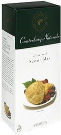 scone mix Canterbury Naturals Nutrition info