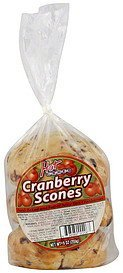 scones cranberry Hot Cakes Nutrition info