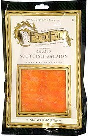 scottish salmon smoked Echo Falls Nutrition info