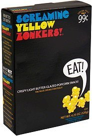 screaming yellow zonkers! pre-priced Lincoln Snacks Nutrition info