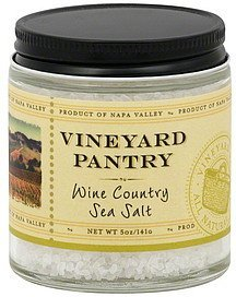 sea salt wine country Vineyard Pantry Nutrition info