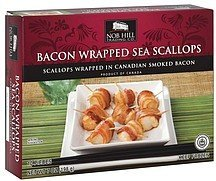 sea scallops bacon wrapped Nob Hill Trading Co. Nutrition info