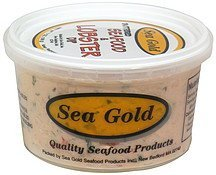 seafood and lobster dip buttered Sea Gold Nutrition info