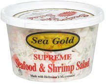 seafood and shrimp salad supreme Sea Gold Nutrition info