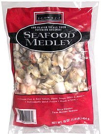 seafood medley Sea Mazz Nutrition info
