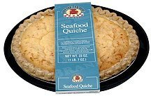 seafood quiche Home Made Brand Nutrition info
