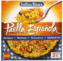 seafood rice Gallina Blanca Nutrition info