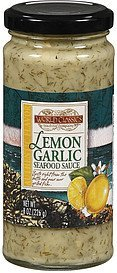 seafood sauce lemon garlic World Classics Trading Company Nutrition info