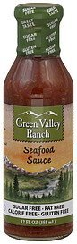 seafood sauce Green Valley Ranch Nutrition info
