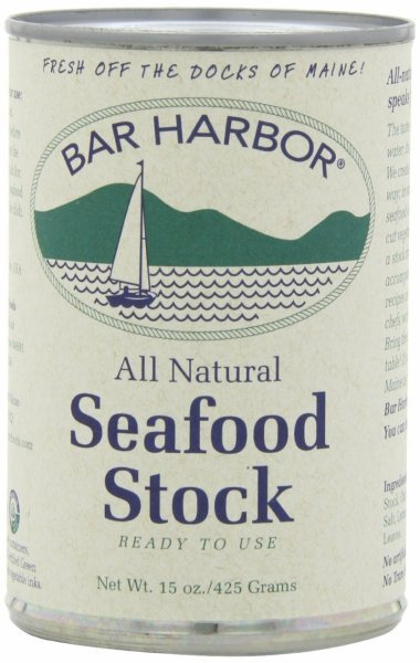 seafood stock Bar Harbor Nutrition info