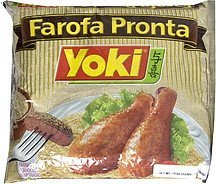 seasoned cassava flour Yoki Nutrition info