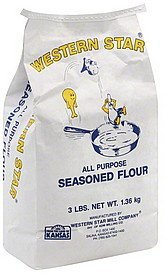 seasoned flour all purpose Western Star Nutrition info