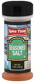 seasoned salt Spice Time Nutrition info