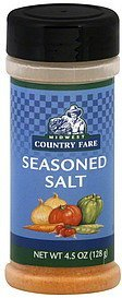 seasoned salt Midwest Country Fare Nutrition info