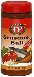 seasoned salt Fancy Pantry Nutrition info