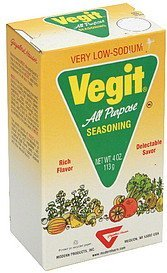 seasoning all purpose Vegit Nutrition info