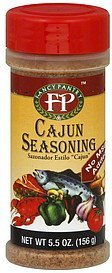 seasoning cajun Fancy Pantry Nutrition info