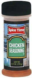 seasoning chicken Spice Time Nutrition info