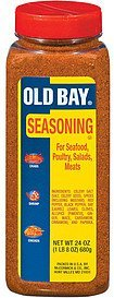 seasoning for seafood poultry salads & meats Old Bay Nutrition info