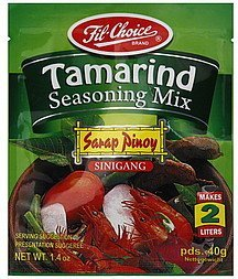 seasoning mix tamarind Fil Choice Nutrition info
