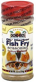 seasoning ol' harbor fish fry Ocho Rios Nutrition info