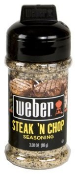 seasoning steak 'n chop Weber Nutrition info