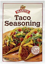 seasoning taco Bearitos Nutrition info