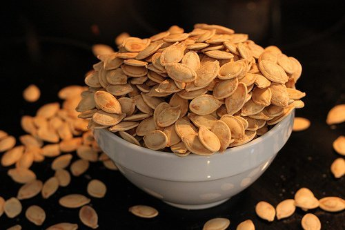 seeds, pumpkin and squash seed kernels, dried usda Nutrition info