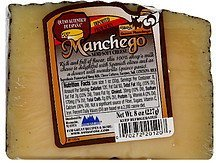semi-soft cheese Manchego Nutrition info