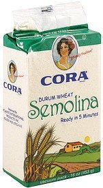 semolina durum wheat Cora Nutrition info