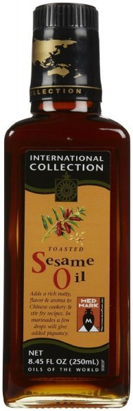 sesame oil toasted International Collection Nutrition info