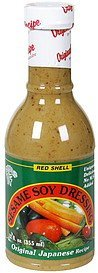 sesame soy dressing Red Shell Nutrition info
