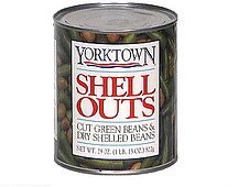 shell outs cut green beans & dry shelled beans Yorktown Nutrition info
