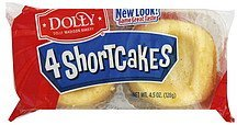 shortcakes Dolly Madison Bakery Nutrition info