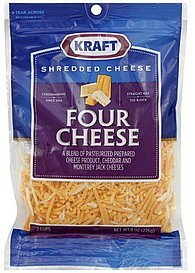 calories in shredded cheese