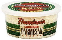shredded cheese parmesan Provincia Nutrition info