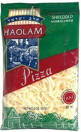 shredded cheese pizza Haolam Nutrition info