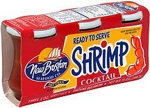shrimp cocktail fat free New Boston Nutrition info