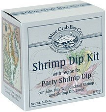 shrimp dip kit Blue Crab Bay Co. Nutrition info