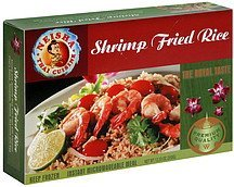 shrimp fried rice Neisha Thai Cuisine Nutrition info