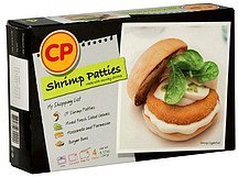 shrimp patties Cp Nutrition info