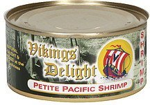 shrimp petite pacific Vikings Delight Nutrition info