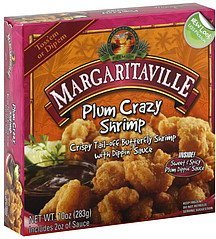 shrimp plum crazy Margaritaville Nutrition info