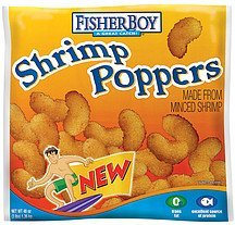 shrimp poppers Fisher Boy Nutrition info