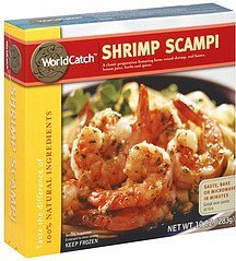 shrimp scampi WorldCatch Nutrition info