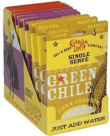 single serve soup variety packs Comida Loca Nutrition info