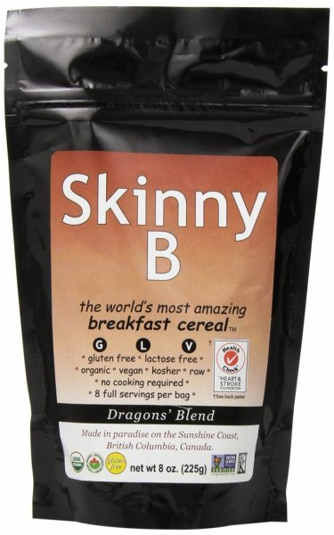 skinny b breakfast cereal Holy Crap Nutrition info