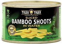 sliced bamboo shoots in water Tiger Tiger Nutrition info