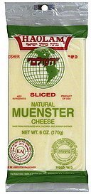 sliced cheese muenster Haolam Nutrition info